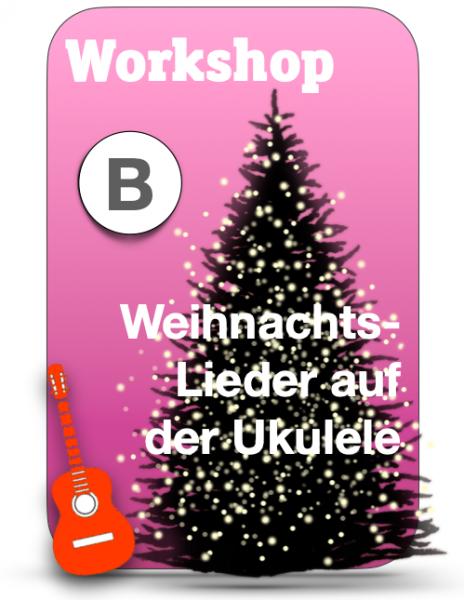 Weihnachtslieder-Workshop