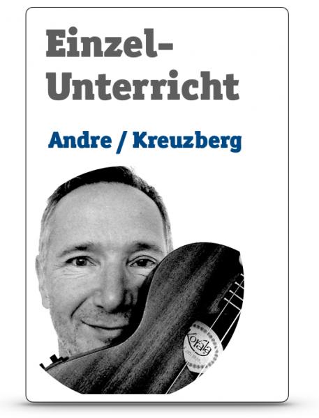 Einzelunterricht mit Andre / Kreuzberg