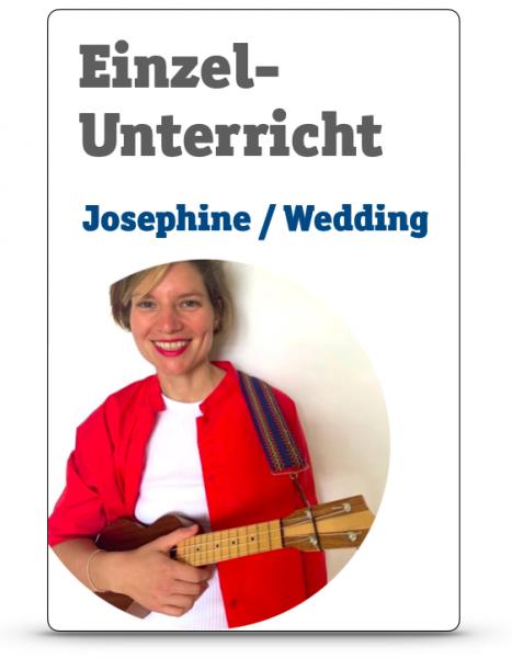 Einzelunterricht mit Josephine / Wedding
